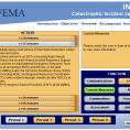 FEMA Catastrophic Incident Supplement