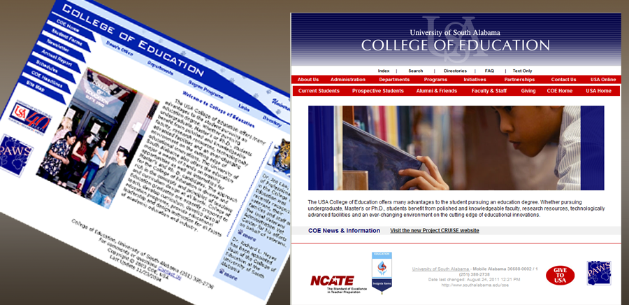 College of Education Website